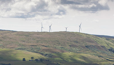 Dersalloch Windfarm Powers On in South Ayrshire