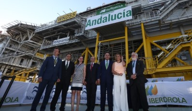 Navantia, Iberdrola and 50 Hertz host delivery ceremony