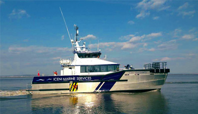 Turner Iceni Awarded over £4 million Vessel Contract