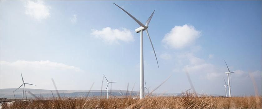 Official Opening for Repowered Coal Clough Windfarm