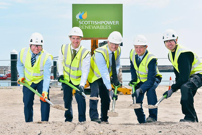 Work begins on construction of 'home' for East Anglia ONE windfarm