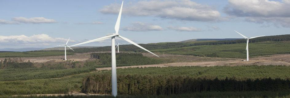 Harestanes Windfarm