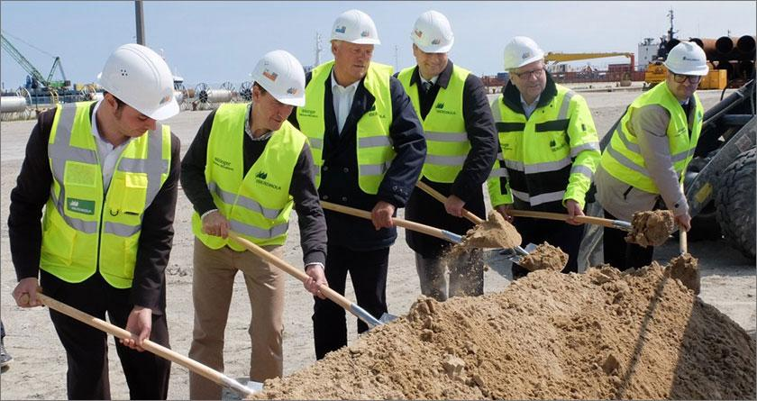 Start of construction for offshore operations building at Sassnitz Mukran