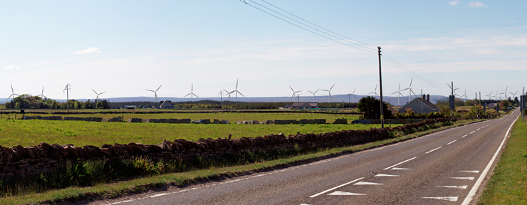 Halsary Windfarm Viewpoint