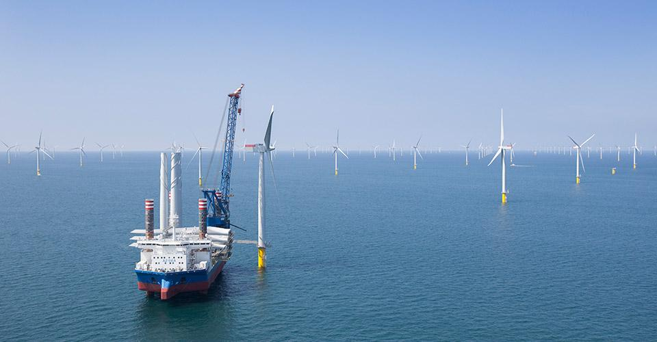East Anglia offshore windfarm