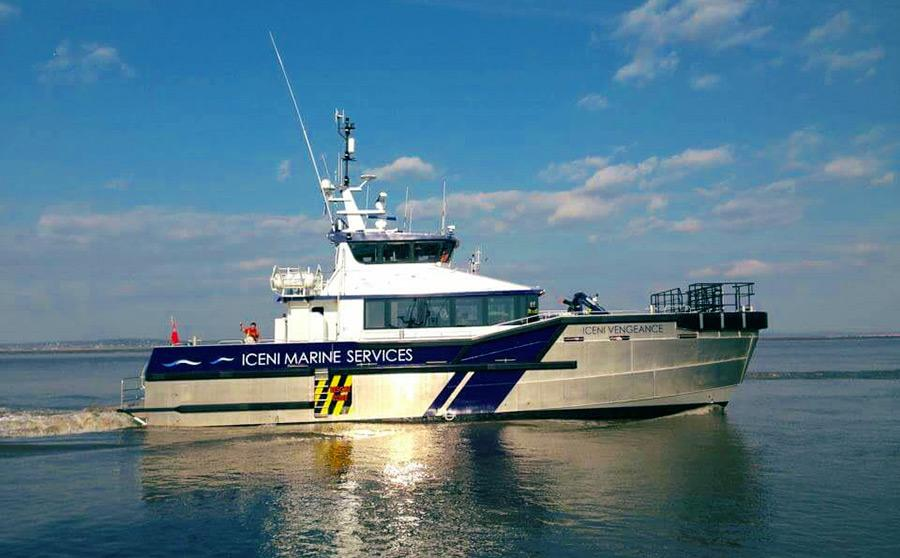 Turner Iceni Awarded over £4 million Vessel Contract for  East Anglia ONE Offshore Windfarm